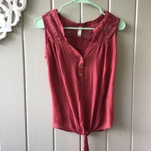 PerSeption Concept Small Woman's Top Tank Lace